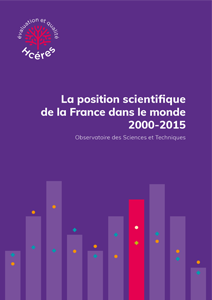 La position scientifique de la France dans le monde, 2000-2015