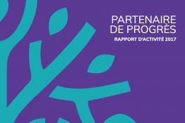 Couverture du rapport d'activité 2017